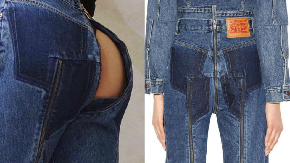 Levi's New Jeans Come With Their Own Butt Window | NewNowNext
