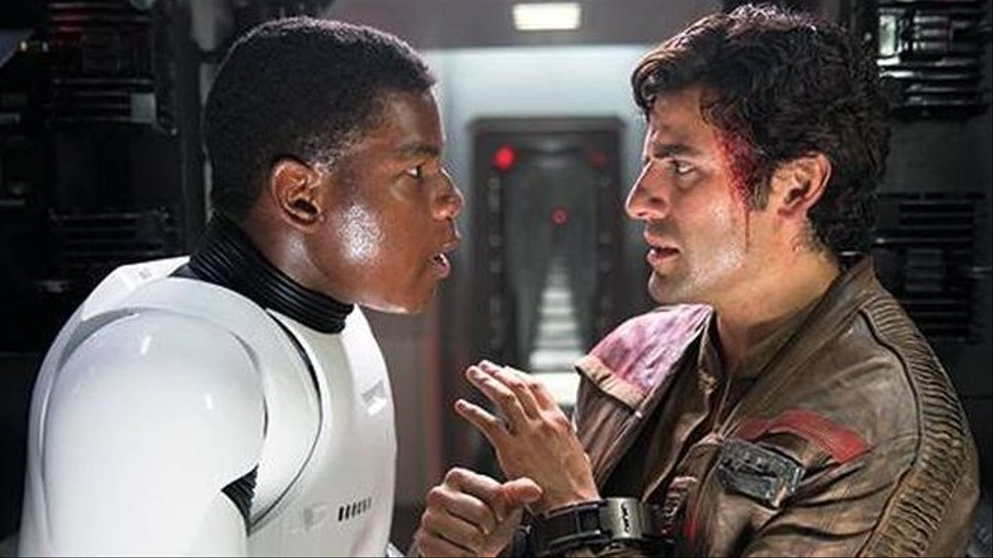 "Lucasfilm Head Hints Romance Between Finn And Poe Could Happen In ""Star Wars"" Sequels"
