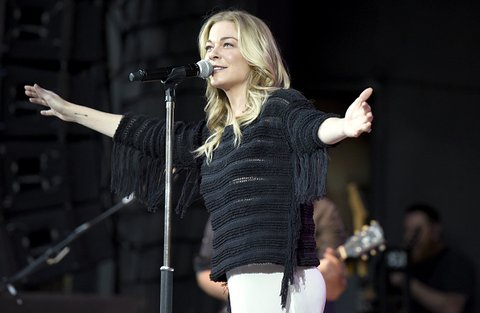 LeAnn Rimes Performs At The Alameda County Fair