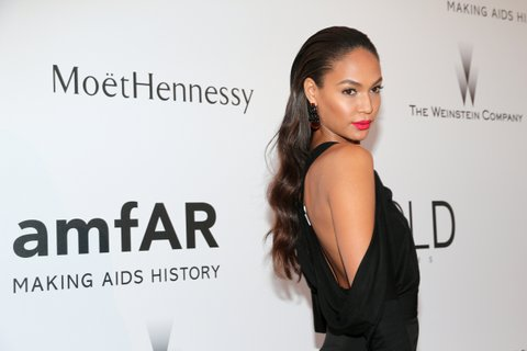 CAP D'ANTIBES, FRANCE - MAY 21:  Model Joan Smalls attends amfAR's 22nd Cinema Against AIDS Gala, Presented By Bold Films And Harry Winston at Hotel du Cap-Eden-Roc on May 21, 2015 in Cap d'Antibes, France.  (Photo by Gisela Schober/amfAR15/Getty Images)