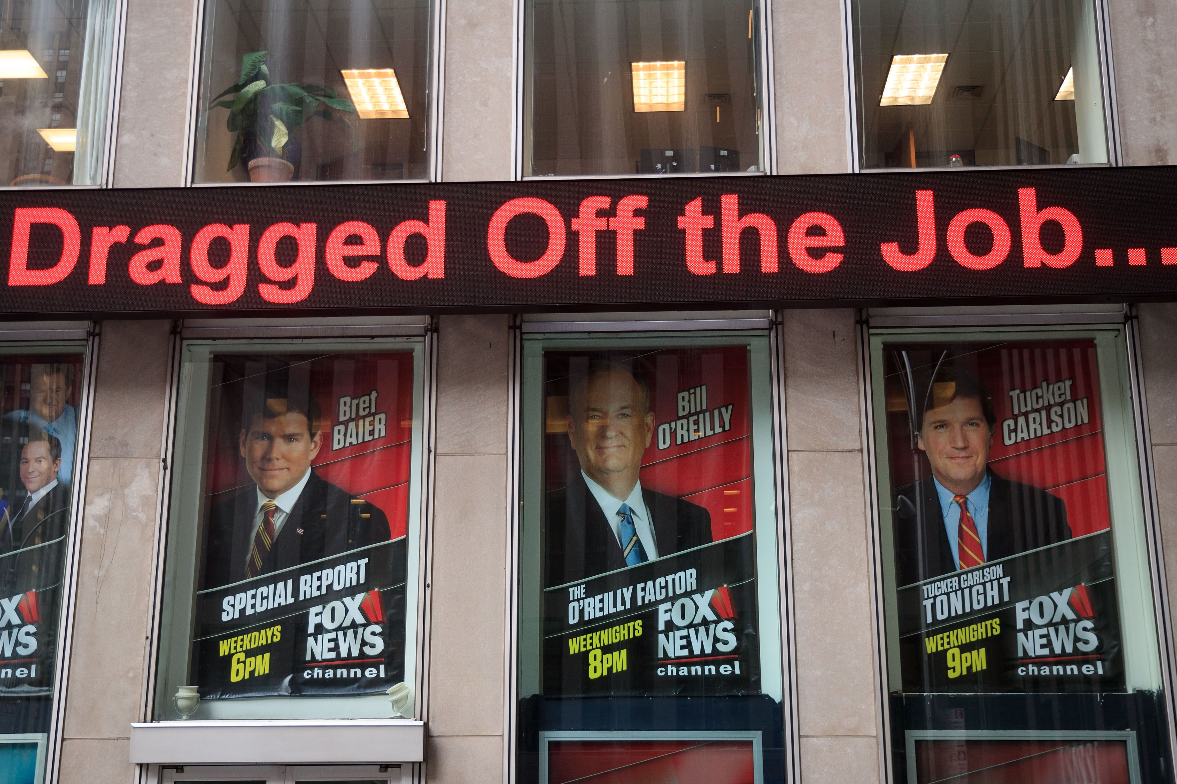 Fox News reportedly parting ways with Bill O'Reilly
