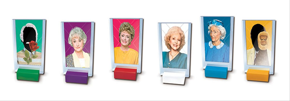golden girls clue players