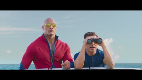 rock efron baywatch boat