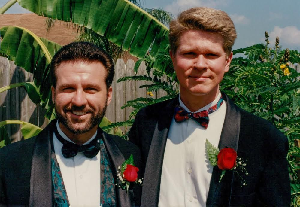 Same-Sex Couple Celebrates Pride by Recreating Photo 24 Years Later