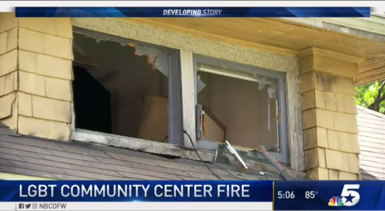 Someone deliberately set fire to this LGBTQ center serving African-Americans