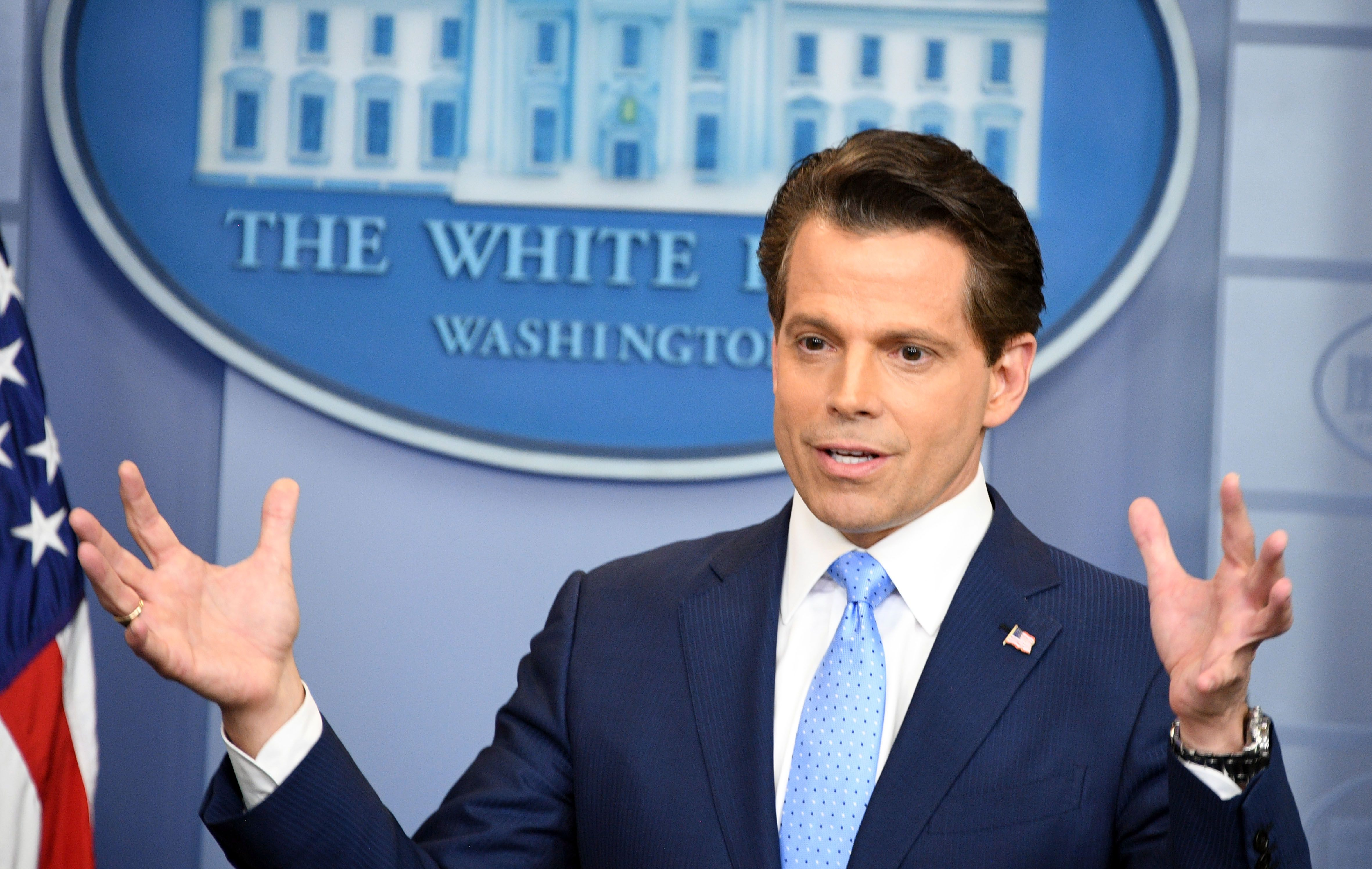 The Mooch Is Surprisingly Muted on Stephen Colbert's 'The Late Show'