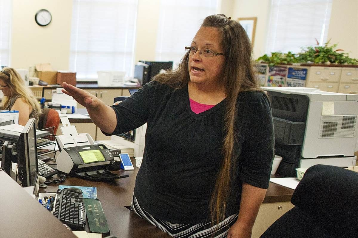 Attorneys fees awarded to plaintiff in Kim Davis case