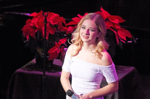 LOUISVILLE, KY - DECEMBER 18:  Jackie Evancho performs at Brown Theatre on December 18, 2016 in Louisville, Kentucky.  (Photo by Stephen J. Cohen/Getty Images)