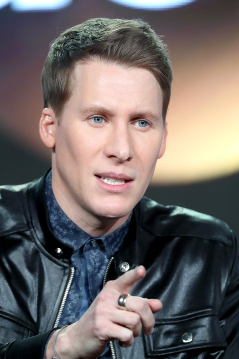 PASADENA, CA - JANUARY 10:  Creator/Executive Producer Dustin Lance Black of the television show 'When We Rise' speaks onstage during the Disney-ABC portion of the 2017 Winter Television Critics Association Press Tour at Langham Hotel on January 10, 2017 in Pasadena, California.  (Photo by Frederick M. Brown/Getty Images)