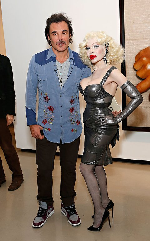 Amanda Lepore and David LaChapelle