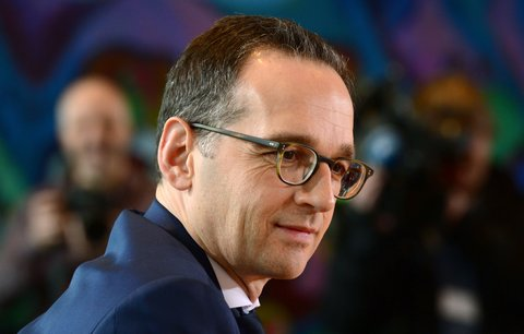 German Justice Minister Heiko Maas attends a weekly meeting of the German cabinet at the chancellery in Berlin January 14, 2015. AFP PHOTO / JOHN MACDOUGALL        (Photo credit should read JOHN MACDOUGALL/AFP/Getty Images)