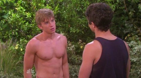chandler massey shirtless days of our lives