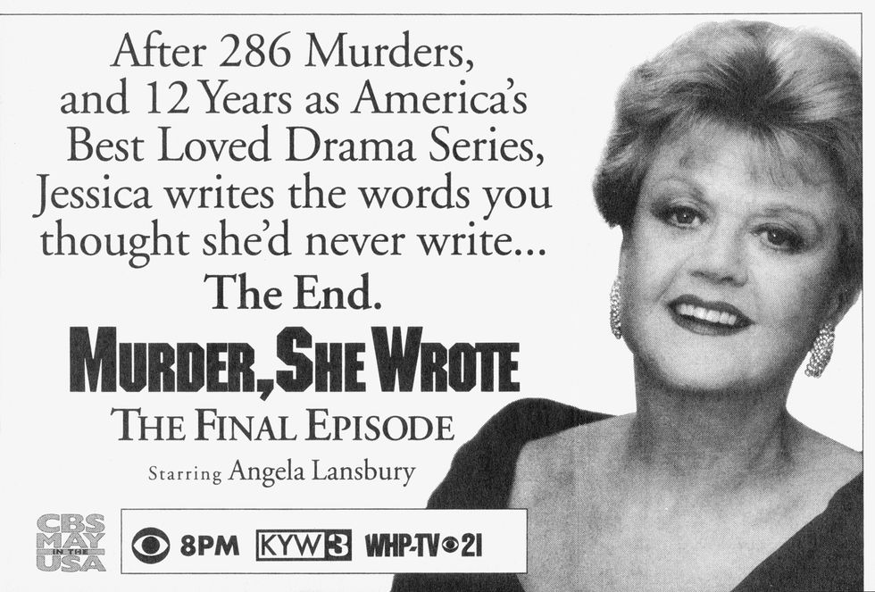 Image result for angela lansbury murder she wrote