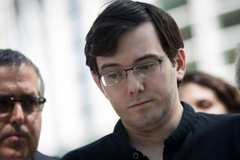 Martin Shkreli, the 'Pharma Bro,' broke down in tears before being sentenced