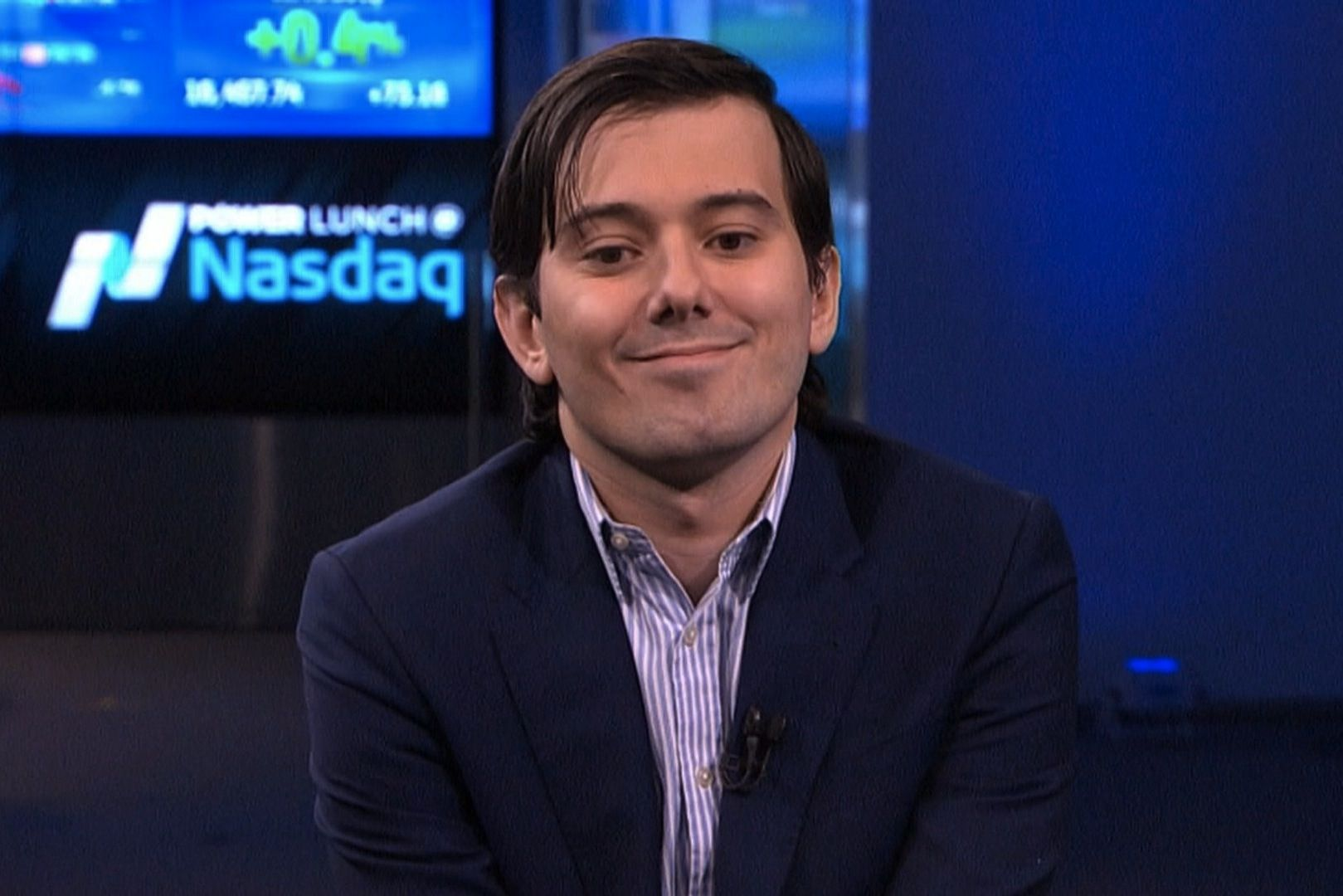 Disgraced pharma boss Martin Shkreli 'cries' as he's jailed for 7 years