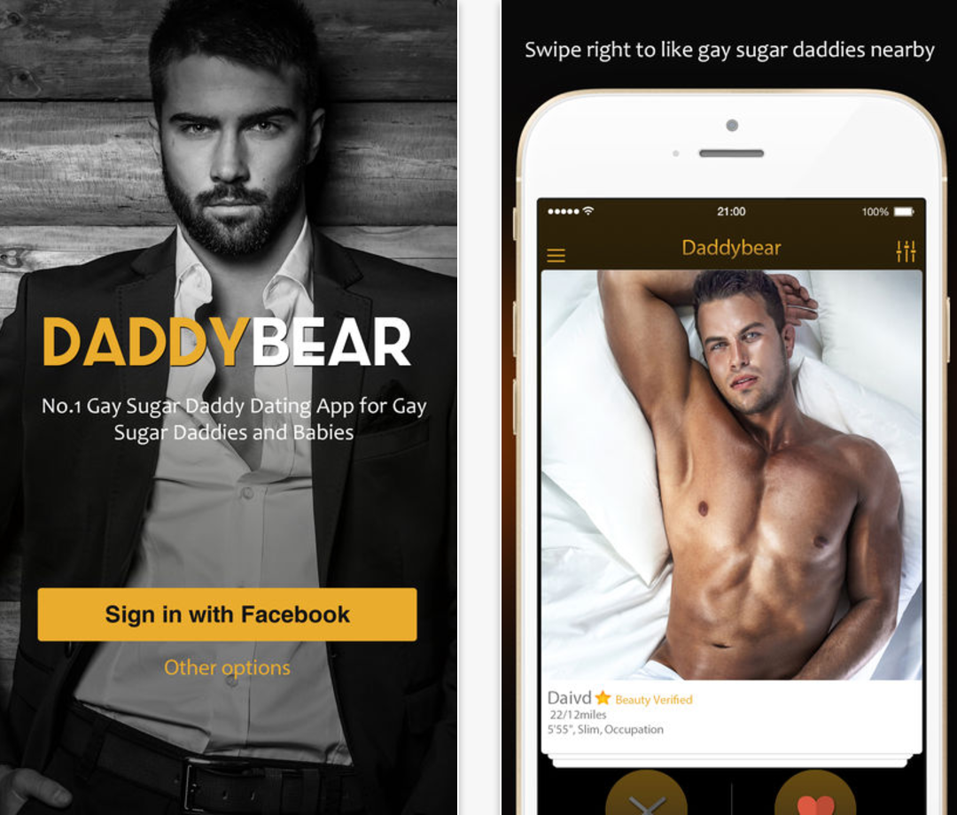 if gay dating apps were real life