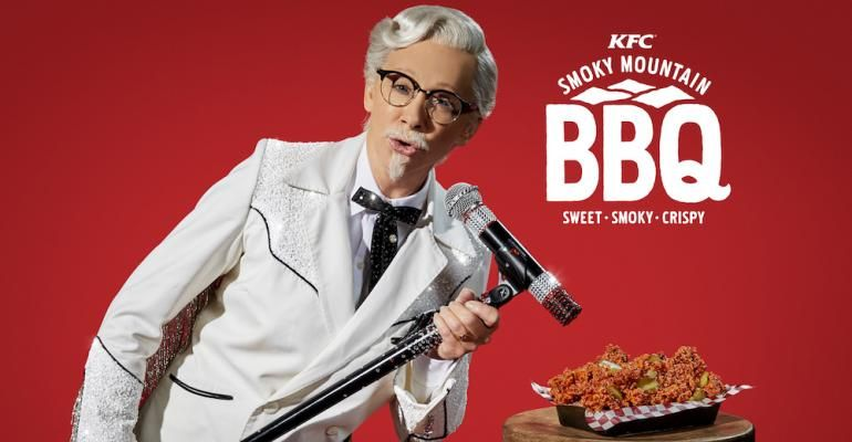 Reba McEntire Does Colonel Sanders Drag For KFC Ad Campaign
