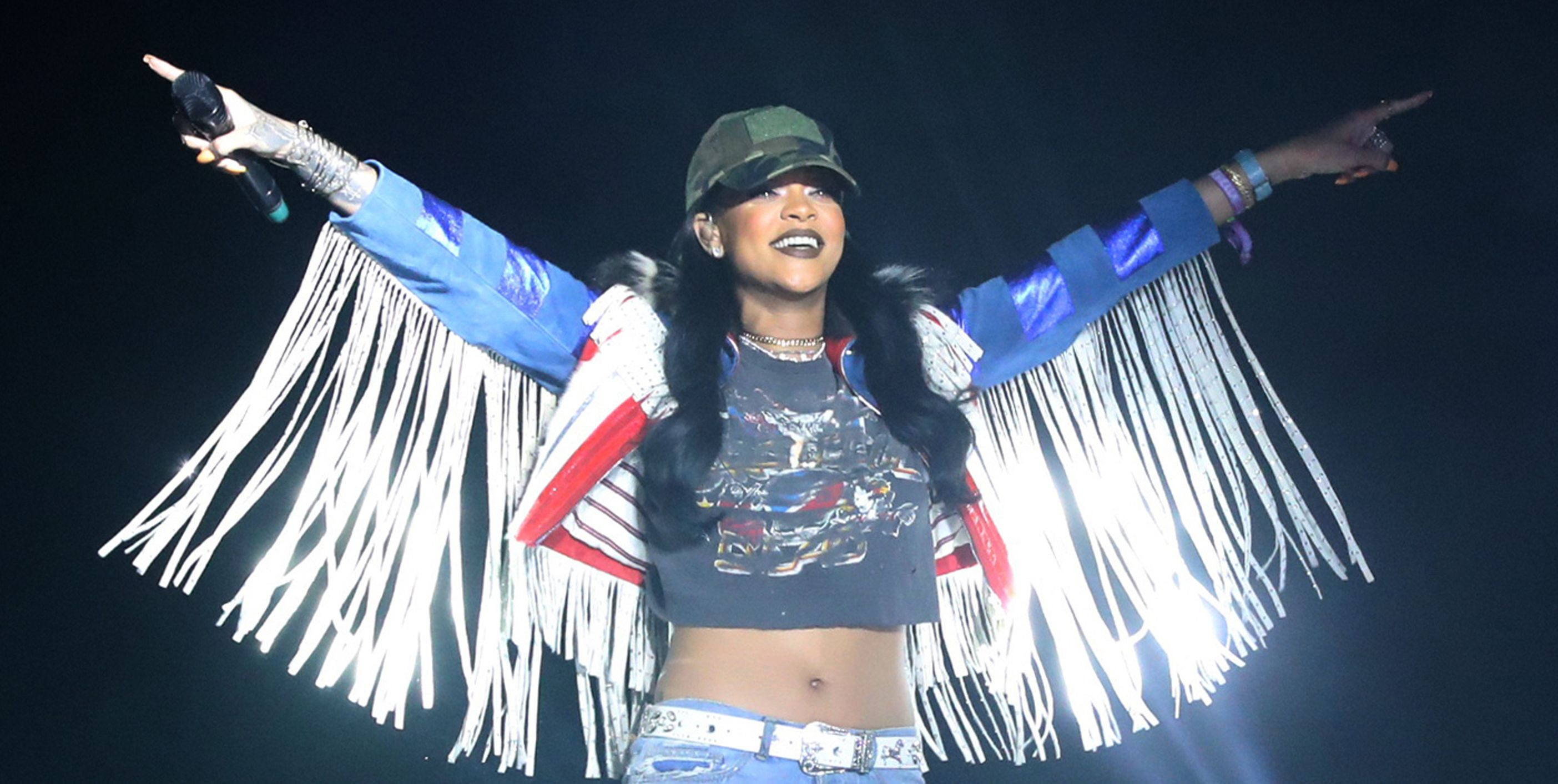 Rihanna's Illuminati Ties Have Groups in Senegal Pissed About Her Visit