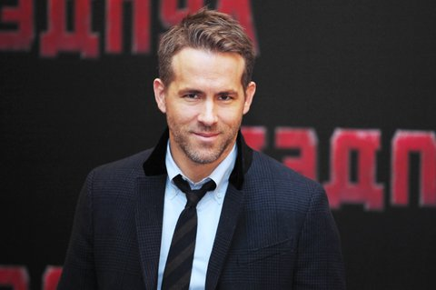 MOSCOW, RUSSIA - JANUARY 25: Actor Ryan Reynolds attends a photocall for 'Deadpool' at the Ritz Carlton Hotel on January 25, 2016 in Moscow, Russia.(Photo by Elena Gorbacheva/Kommersant Photo via Getty Images)