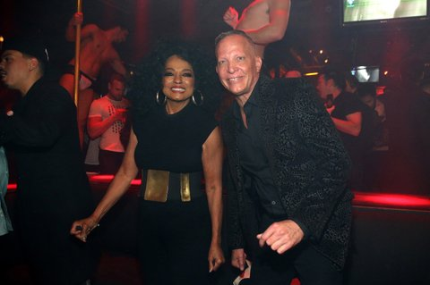 Image result for Diana Ross Evan Ross gay club