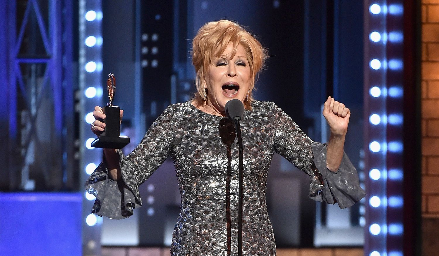 "Carol Channing, The Original ""Dolly,"" Praises Bette Midler's Tony Win"